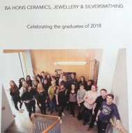 Jewellery and Silversmithing Ulster University Degree Show 2018